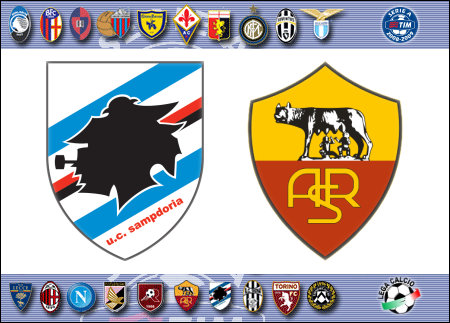 Serie A 2008-09 - Sampdoria vs. Roma