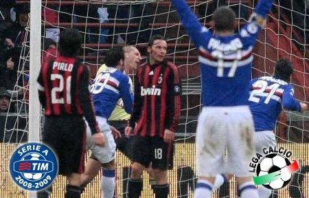 Sampdoria 2-1 Milan: Cassano & Pazzini Sink the Rossoneri Boat (Serie A Matchday 26)