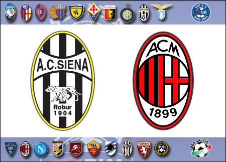 Serie A 2008-09 - Siena vs. Milan