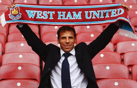 Gianfranco Zola, West Ham United manager