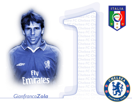 Gianfranco Zola, Italy and Chelsea Legend